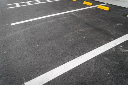 vacant lot: Empty car parking