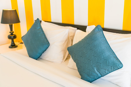 comfortable: Comfortable pillows and bed