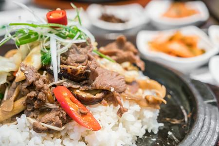 Korean traditional food