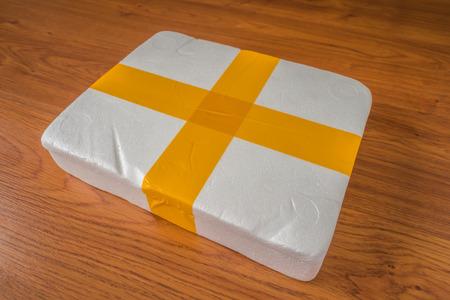 recieve: Packaging foam box