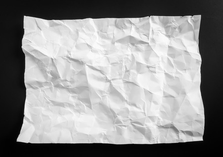 wrinkled: Wrinkled paper texture background Stock Photo