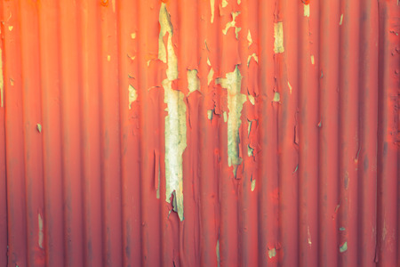 corrugated iron: Rusty corrugated iron