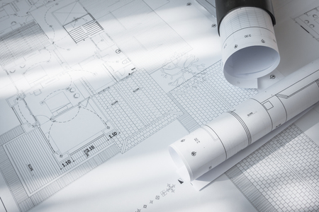 construction project: Construction plans of architectural project