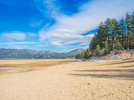 south lake tahoe: Beautiful Tahoe Lake, California