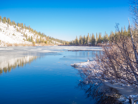 sierra nevada: Winter at Mammoth Lakes