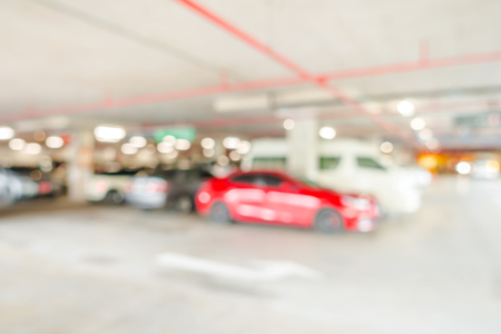 multi story: Abstract blur Parking garage