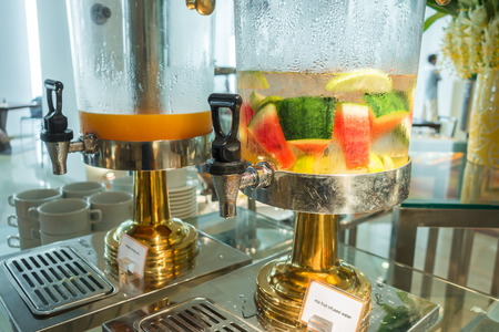 flavored: Fresh fruit Flavored infused water
