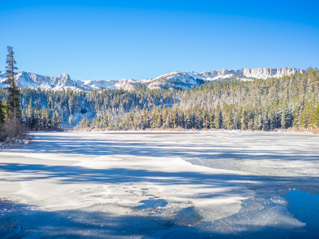 mammoth lakes: Winter at Mammoth Lakes