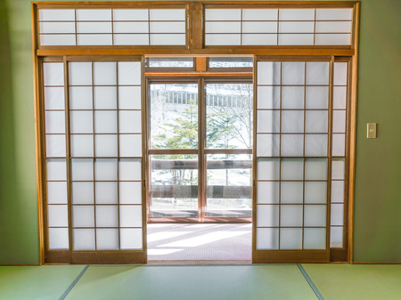 Japanese style room Stock Photo