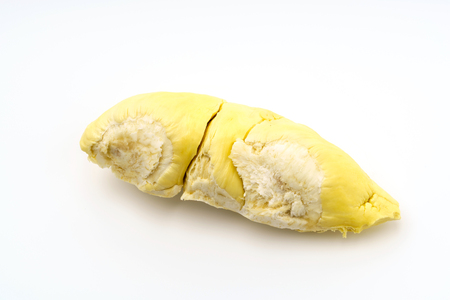 Durian King of fruits  on white background Stock Photo