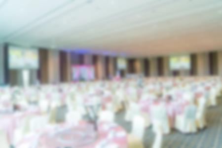 entertaining area: Abstract blur Wedding hall