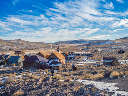 ghost town: Bodie Ghost Town California State Park