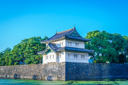 imperial: Beautiful  Imperial Palace in Tokyo, japan