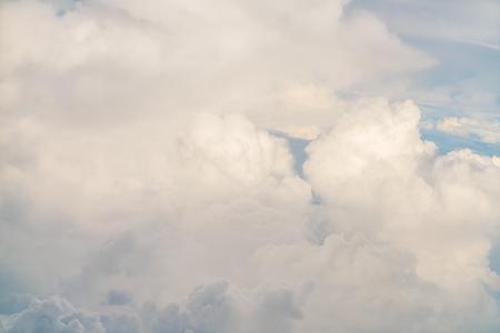 nebulosity: Cloud in blue sky