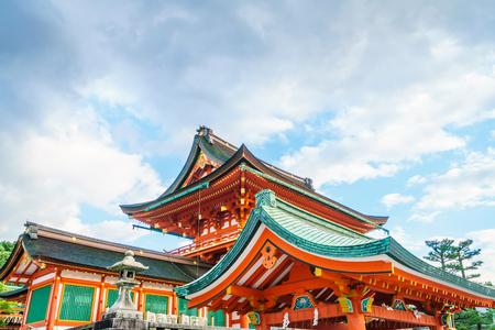 Fushimiinari Taisha ShrineTemple in Kyoto, Japan Stock Photo