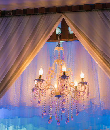 Vintage Lighting decoration for wedding