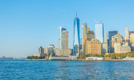 Manhattan skyline, New York City. USA