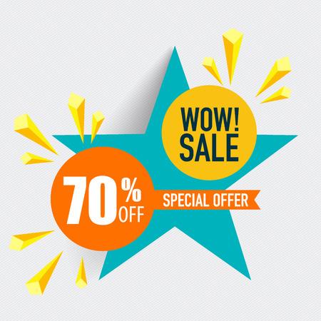 best buy: Sale label price tag template design. Vector illustration.