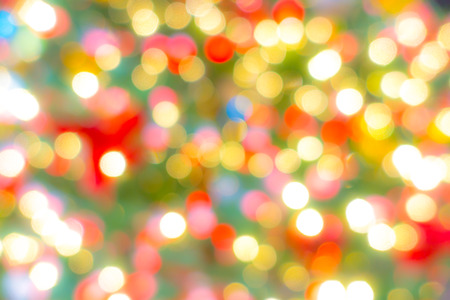 Abstract blur Lights of Christmas Tree 写真素材