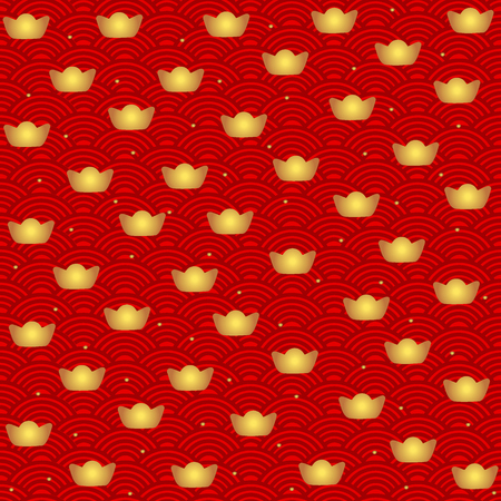 Chinese new year background design. Vector Illustration.