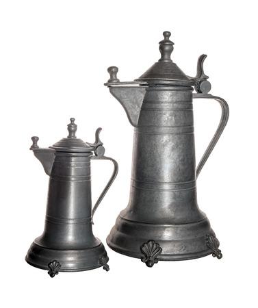 tin: Coffeepot of tin