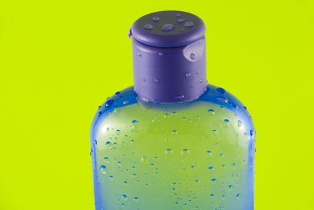 cleanser:   cosmetic container