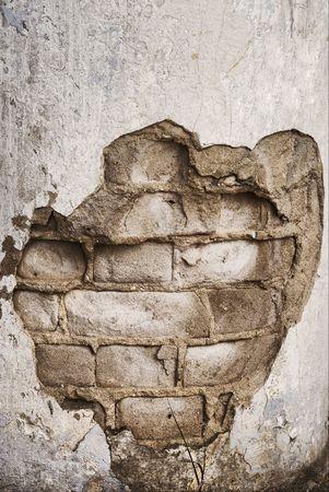 column of the old brick photo