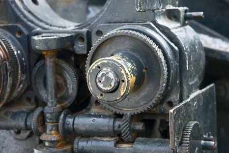 Iron mechanism Stock Photo - 4736537