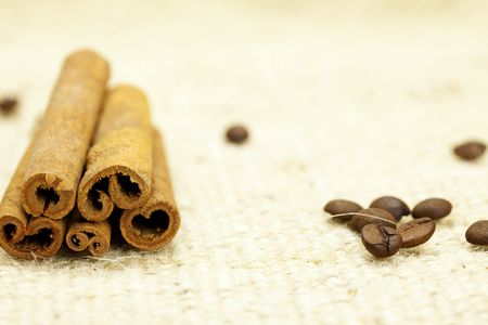 cinnamon and coffee Stock Photo - 6730311