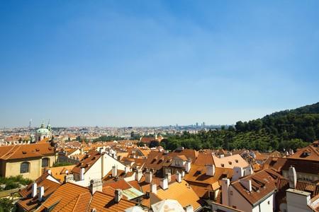 view of Prague Stock Photo - 7590262