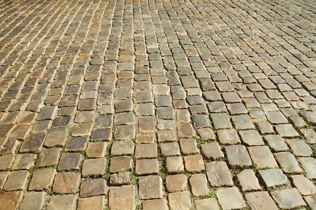 driveways: background of the pavement Stock Photo
