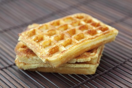 wafers on a bamboo mat Stock Photo - 7589787
