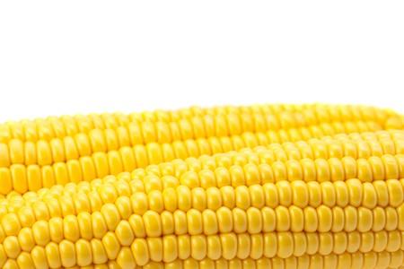 Mais ist auf einem weißen isoliert.  Standard-Bild - 7778875