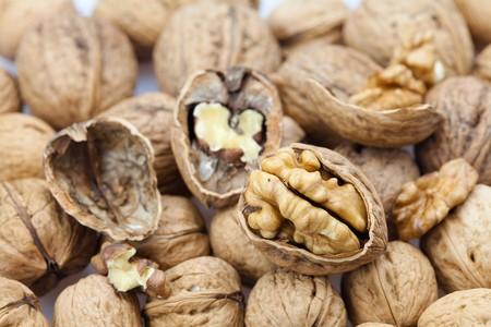 Walnuts background Stock Photo - 8184520