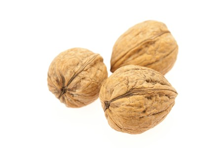 Walnuts isolated on white Stock Photo - 8230240