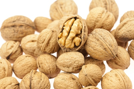 Walnuts isolated on white Stock Photo - 8230525