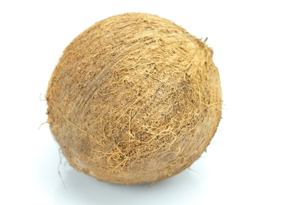 Coconut isolated on white Stock Photo - 8298803