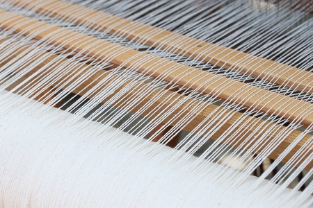 background of the loom at the fair Stock Photo - 9597935
