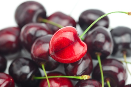 background of cherry photo
