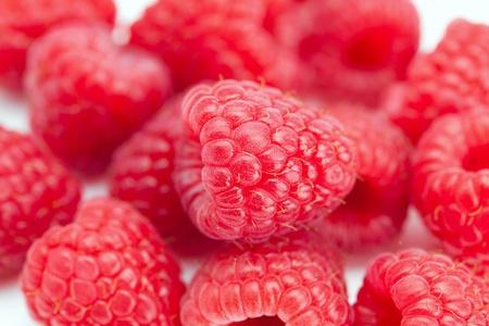background of raspberry