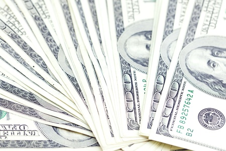 background of the dollar banknotes
