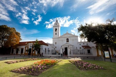 Iglesia Pilar Church in Buenos Aires Argentina photo