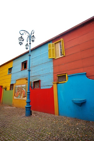 The colourful buildings of La Boca Buenos Aires Argentina photo