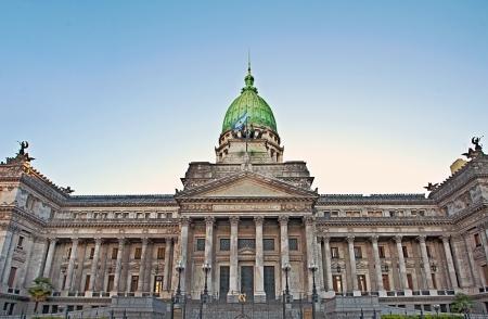 Building of Congress in Buenos Aires, Argentina Standard-Bild