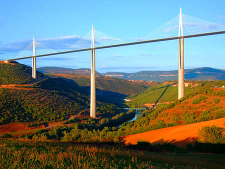 millau: Viaduct of Millau,Aveyron,France