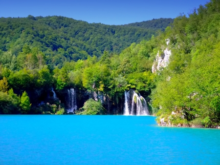 Plitvice Lakes National Park in Croatia photo
