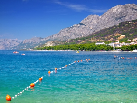 Makarska Riviera and Biokovo mountains,Dalmatia,Croatia photo