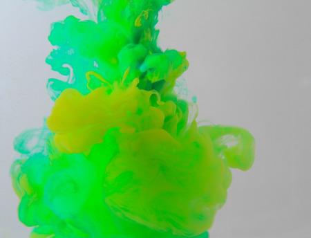 color smoke abstract photo