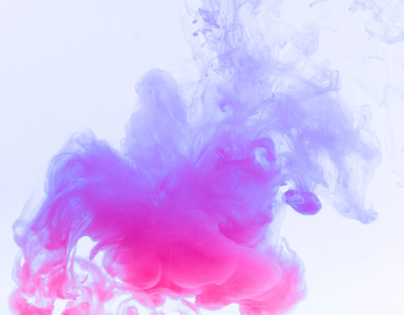 white matter: color smoke abstract