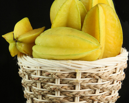 star fruit: carambola  star fruit Stock Photo